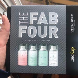 NIB Drybar Fab Four Set